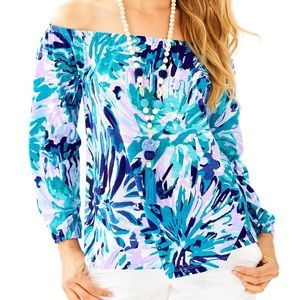 Lilly Pulitzer - Off the Shoulder - Enna Knit Top